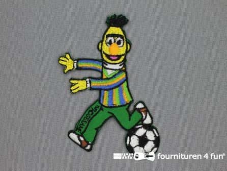 Sesamstraat applicatie 96x62mm Bert