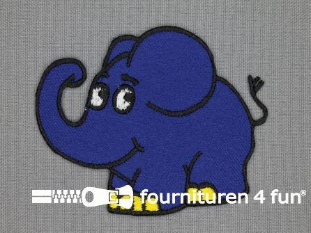 Sendung mit der Maus applicatie 60x74mm Der Elefant