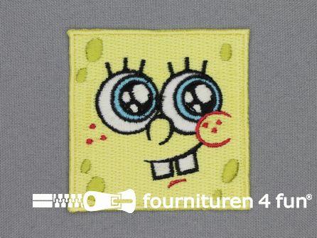SpongeBob applicatie 65x65mm