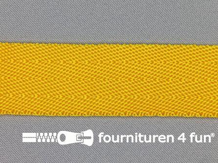 Soepel tassenband 25mm mais geel