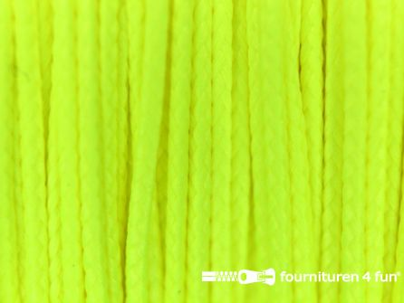 Koord 1mm rol neon geel 50 meter