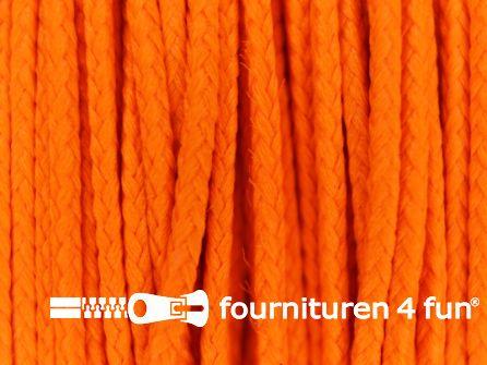 Koord 1mm rol neon oranje 50 meter