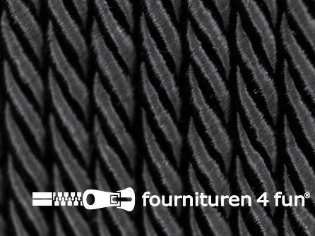 Viscose meubel koord 5mm zwart