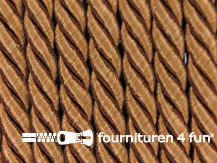 Viscose meubel koord 5mm camel-bruin