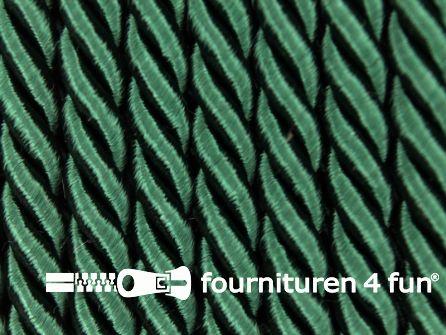 Viscose meubel koord 5mm flessen groen