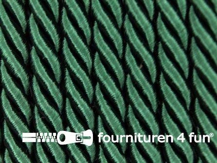 Kaart 40 meter Viscose meubel koord 5mm flessen groen