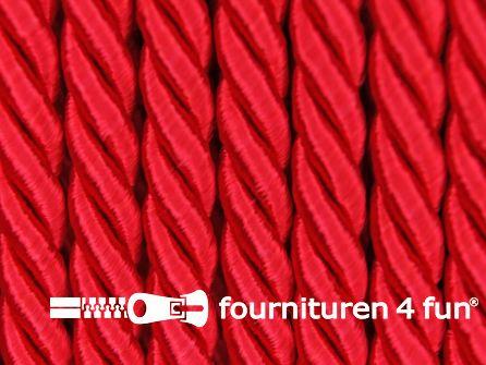 Viscose meubel koord 5mm rood