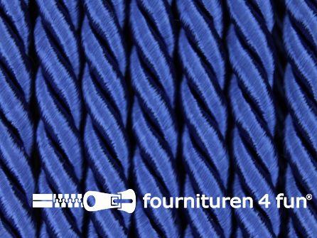 Viscose meubel koord 5mm kobalt blauw