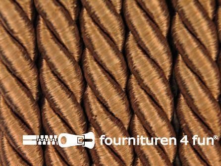 Viscose meubel koord 8mm camel-bruin