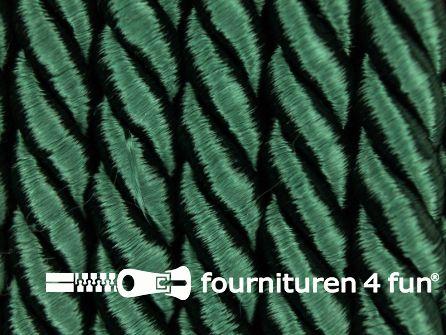 Viscose meubel koord 8mm flessen groen