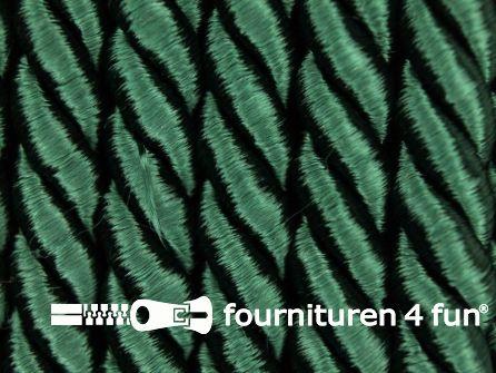 Kaart 20 meter Viscose meubel koord 8mm flessen groen