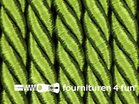 Viscose meubel koord 8mm olijf groen