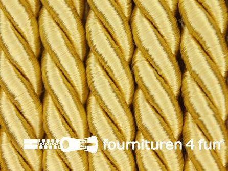 Viscose meubel koord 8mm goud geel