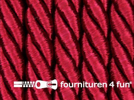 Viscose meubel koord 8mm bordeaux