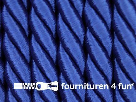 Viscose meubel koord 8mm kobalt blauw
