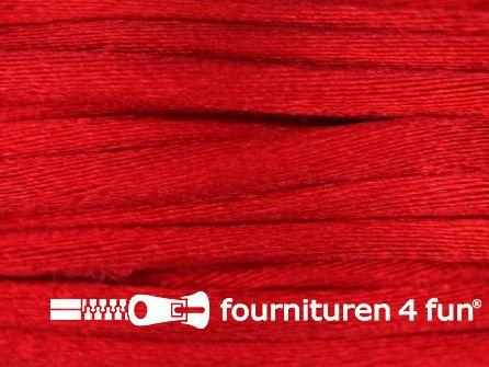 COUPON Glans koord 3mm helder rood - 2 stukken, totaal 14,6 meter (2,8+11,8 meter)