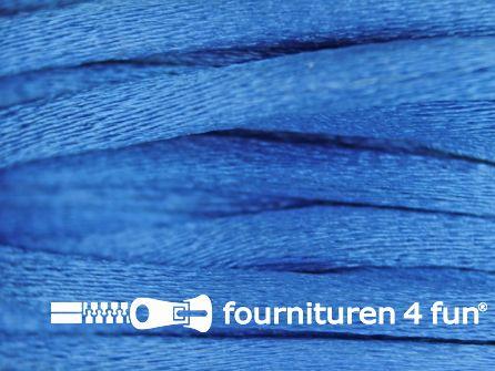 Glans koord 3mm hemels blauw 25 meter