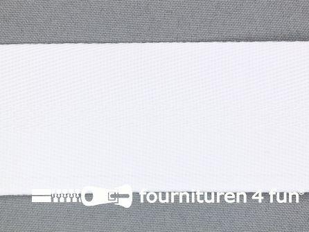 Soepel tassenband 50mm wit