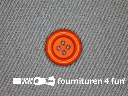 Clown knoop 25mm oranje