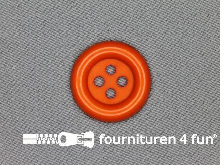 Clown knoop 30mm oranje