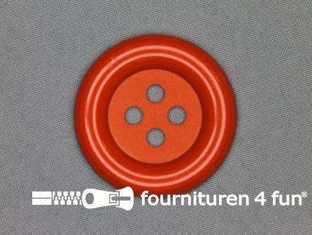 Clown knoop 50mm oranje