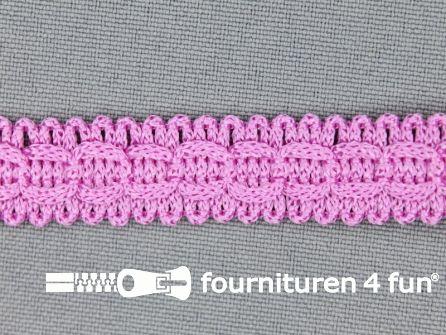 Rol 25 meter nylon galon 14mm barbie roze