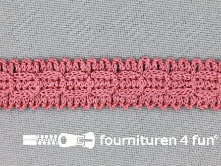 Rol 25 meter nylon galon 14mm antique roze