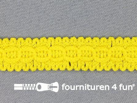 Rol 25 meter nylon galon 14mm fel geel