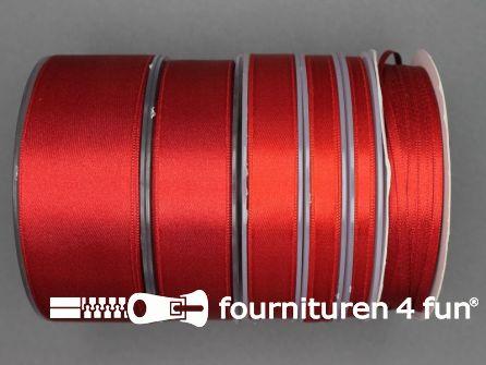 Rol 25 meter satijn lint 68mm rood