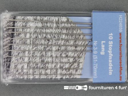 Stopnaalden 51-70mm 10 stuks