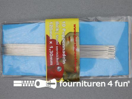 Poppen naalden 1,3mm 10 stuks