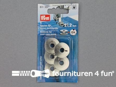 Prym Naaimachine spoeltjes 21,2mm 5 stuks - 611351