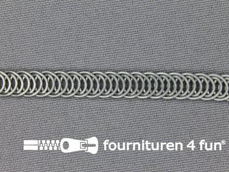 Rol 50 meter baleinenband 7mm metaal spiraal