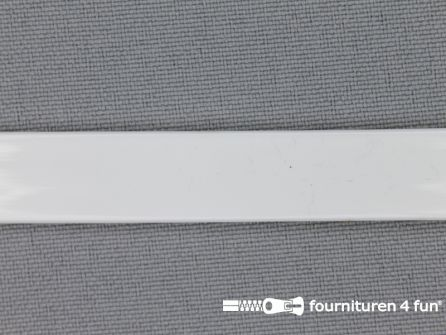 Baleinenband 12mm kunststof wit