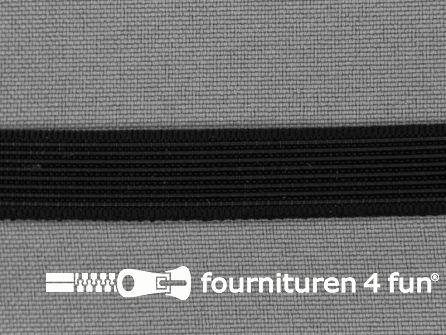 Baleinenband 12mm rigi zwart