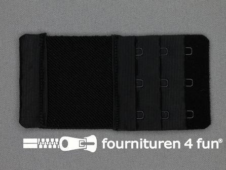 BH verlenger 55mm zwart