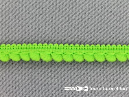 Bolletjesband 10mm lime groen
