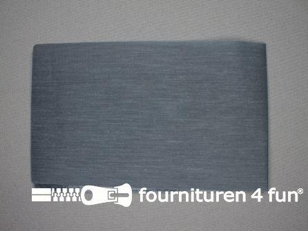 Reparatiedoek 12x40cm midden grijs