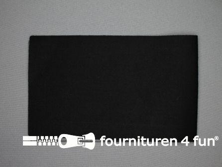 Reparatiedoek 12x40cm zwart