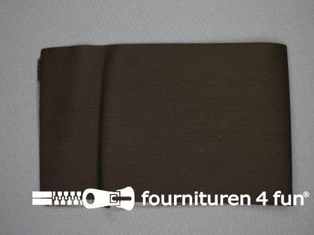 Reparatiedoek 12x40cm donker bruin