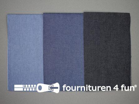 Reparatiedoeken set 3 stuks jeans blauw