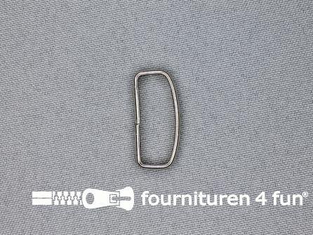 Schuifpassant 25mm zilver 10 stuks