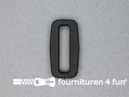 Schuifpassant 30mm zwart kunststof