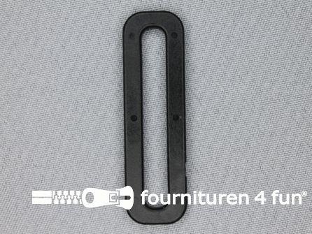 Schuifpassant 50mm zwart kunststof