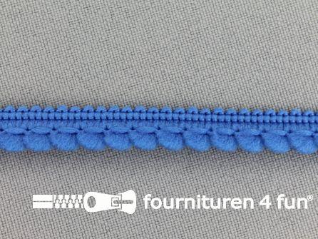 Bolletjesband 10mm kobalt blauw