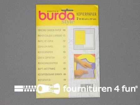 Kopieerpapier burda geel - wit