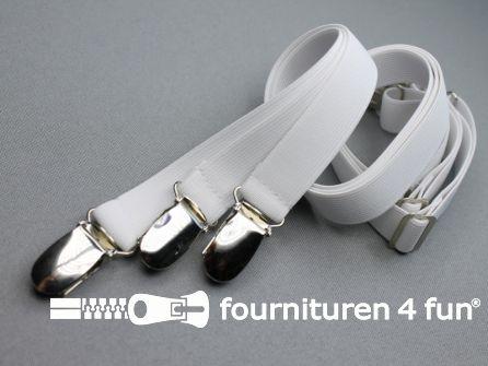 Lakenspanners wit 3 stuks