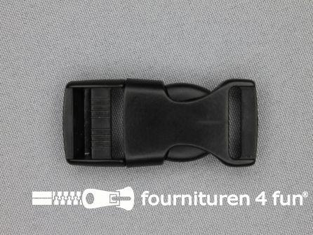 Parachute gesp 20mm zwart