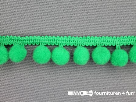 Bolletjesband 18mm gras groen