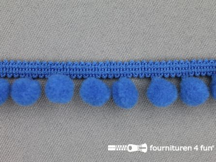 Bolletjesband 18mm kobalt blauw